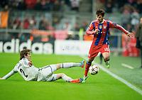 v.l. Mário Fernandes, Juan Bernat (Bayern)<br /> Fussball, Champions League, Gruppenphase, FC Bayern Muenchen - ZSKA Moskau