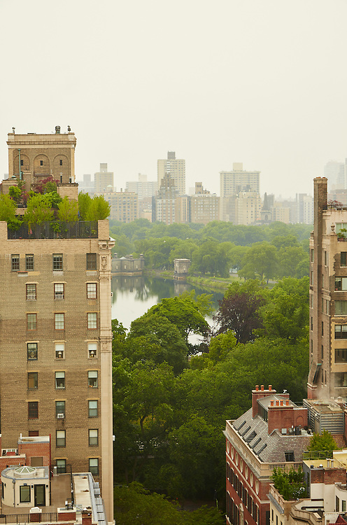 View of Central Park from 40 East 94th Street, 17th floor