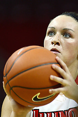2010-2011 Illinois State Redbirds Women's Basketball Photos