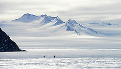 © Licensed to London News Pictures. 21/11/2014. Antarctic Ice Marathon takes place at Union Glacier base 650 miles away from the South Pole. The race was won by Marc deKeyser, Belgium in a time of 4.12.21 hours. There were 47 runners from all over the glob . Photo credit : Mike King/LNP