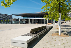 View of deserted Berlin Brandenburg Willy<br />