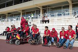 Team GER - Team Competition Grade IV Para Dressage - Alltech FEI World Equestrian Games™ 2014 - Normandy, France.<br /> © Hippo Foto Team - Jon Stroud <br /> 25/06/14