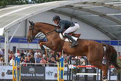 Clemens Pieter, BEL, Horizon de Regor<br /> Final Belgium Championships<br /> Zangersheide FEI World Cup Breeding Jumping<br /> <br /> 15/09/18