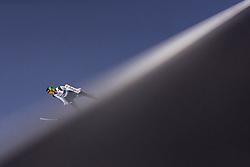 28.02.2019, Seefeld, AUT, FIS Weltmeisterschaften Ski Nordisch, Seefeld 2019, Skisprung, Herren, Qualifikation, im Bild Timi Zajc (SLO) // Timi Zajc of Slovenia during his Qualification Jump of men's Skijumping of FIS Nordic Ski World Championships 2019. Seefeld, Austria on 2019/02/28. EXPA Pictures © 2019, PhotoCredit: EXPA/ JFK