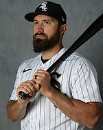 GLENDALE, ARIZONA - MARCH 05:  Adam Eaton #12 of the Chicago White Sox poses for a portrait during Photo Day on March 5, 2021 at Camelback Ranch in Glendale Arizona.  (Photo by Ron Vesely) Subject:  Adam Eaton