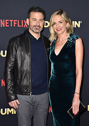 Jimmy Kimmell, Molly McNearney attend the premiere of Netflix's 'Dumplin'' at TCL Chinese 6 Theatres on December 6, 2018 in Los Angeles, CA, USA. Photo by Lionel Hahn/ABACAPRESS.COM