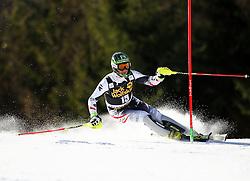 HERBST Reinfried of Austria competes during Men's Slalom - Pokal Vitranc 2014 of FIS Alpine Ski World Cup 2013/2014, on March 9, 2014 in Vitranc, Kranjska Gora, Slovenia. Photo by Matic Klansek Velej / Sportida