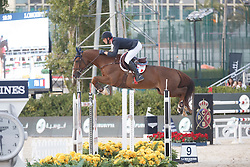 Staut Kevin, (FRA), Reveur de Hurtebise HDC <br /> First Round<br /> Furusiyya FEI Nations Cup Jumping Final - Barcelona 2015<br /> © Dirk Caremans<br /> 24/09/15