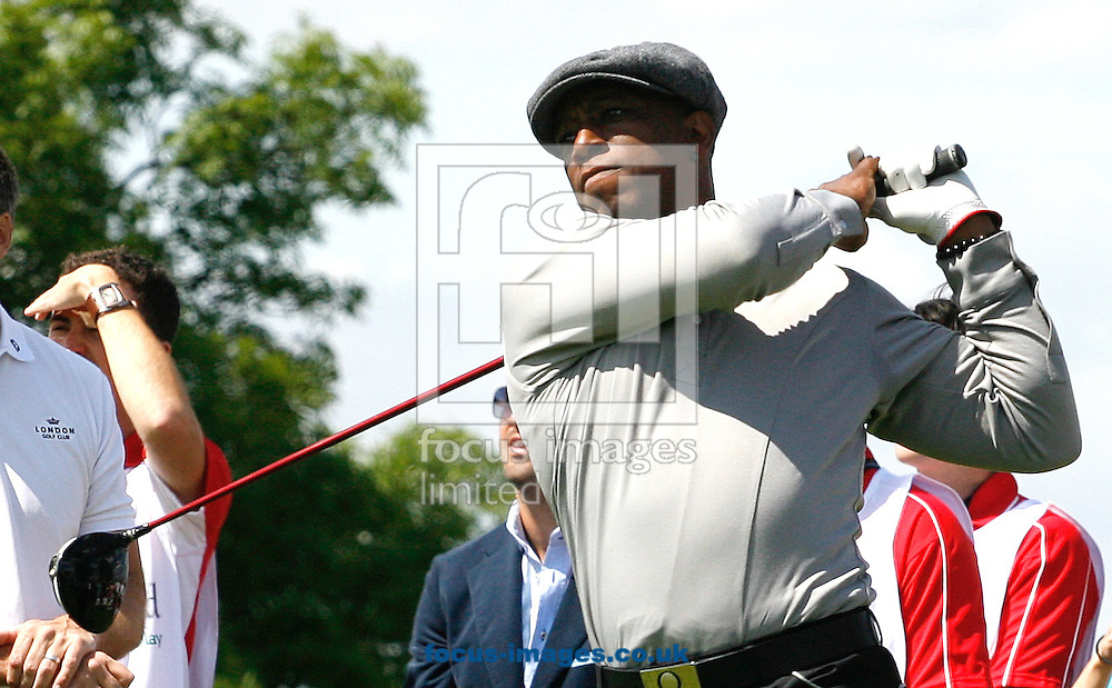 Picture by Paul Terry/Focus Images Ltd..20/5/11.Ian Wright pictured during the Golf LIVE day event at London Golf Club, Ash, Kent..