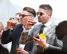 Celebrities attend Derby Day at Ascot Racecourse in Perth - 03 Nov 2018