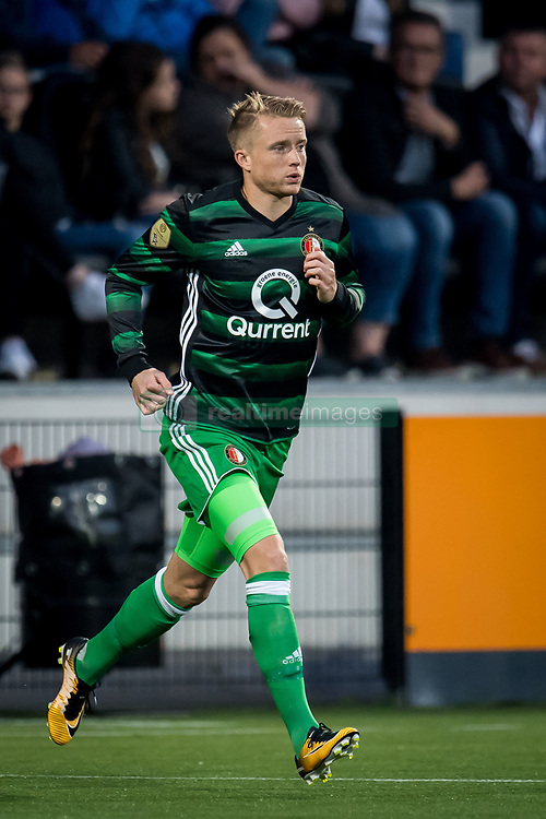 Sam Larsson of Feyenoord during the Dutch Eredivisie match between Heracles Almelo and Feyenoord Rotterdam at Polman stadium on September 09, 2017 in Almelo, The Netherlands