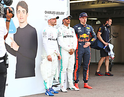 25.05.2019, Circuit de Monaco, Monte Carlo, MCO, FIA, Formel 1, Grand Prix von Monaco 2019, Qualifying, im Bild Valtteri Bottas (Mercedes AMG Petronas Motorsport), Lewis Hamilton (Mercedes AMG Petronas Motorsport) und Max Verstappen (Aston Martin Red Bull Racing) // during the qualifying for the FIA Formula One Grand Prix of Monaco at the Circuit de Monaco in Monte Carlo, Monaco on 2019/05/25. EXPA Pictures © 2019, PhotoCredit: EXPA/ Eibner-Pressefoto/ Neis<br /> <br /> *****ATTENTION - OUT of GER*****
