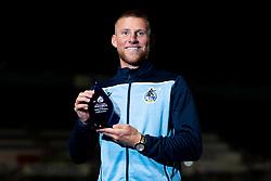 Alfie Kilgour of Bristol Rovers with his Player of the Season Award - Mandatory by-line: Ryan Hiscott/JMP - 28/08/2020 - FOOTBALL - Memorial Stadium - Bristol, England - Bristol Rovers v Cardiff City - Pre Season Friendly