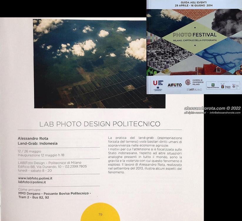 catalog 'Milano Photofestival 2014' (ITA)