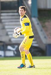 Falkirk's keeper Michael McGovern.<br /> Raith Rovers 1 v 1 Falkirk, Scottish Championship 28/9/2013.<br /> ©Michael Schofield.