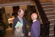 RICHARD CORK; ALLEN JONES, Opening Reception for Oceania, an exhibition which celebrates the art of the Pacific region. Royal Academy. London. 25 September 2018