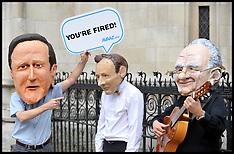 Jeremy Hunt Protesters 31-5-12