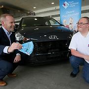 20.9.2021 Down Syndrome Ireland Hyundai raffle prize
