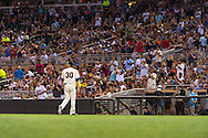 Kevin Correia #30 of the Minnesota Twins walks off the field to a standing ovation after pitching against the Chicago White Sox on June 19, 2013 at Target Field in Minneapolis, Minnesota.  The Twins defeated the White Sox 7 to 4.  Photo: Ben Krause