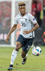 19.06.2016, Stade Pierre Mauroy, Lille, FRA, UEFA Euro, Frankreich, Schweiz vs Frankreich, Gruppe A, im Bild Kingsley Coman (FRA) // Kingsley Coman (FRA) during Group A match between Switzerland and France of the UEFA EURO 2016 France at the Stade Pierre Mauroy in Lille, France on 2016/06/19. EXPA Pictures © 2016, PhotoCredit: EXPA/ JFK