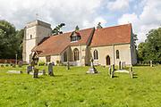 Village parish church of Saint Martin, Nacton, Suffolk, England, UK