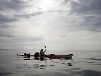 Kayaking Hellefjorden - Sogn og Fjordane