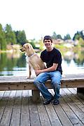 Senior Portrait Photography with Kyle