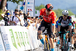 Phil BAUHAUS of BAHRAIN VICTORIOUS celebrates victory during 1st Stage of 27th Tour of Slovenia 2021 cycling race between Ptuj and Rogaska Slatina (151,5 km), on June 9, 2021 in Slovenia. Photo by Matic Klansek Velej / Sportida