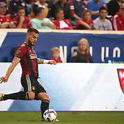 HARRISON, NEW JERSEY- OCTOBER 15: Leandro Gonzalez #5 of Atlanta United in action during the New York Red Bulls Vs Atlanta United FC, MLS regular season match at Red Bull Arena, Harrison, New Jersey on October 15, 2017 in Harrison, New Jersey. (Photo by Tim Clayton/Corbis via Getty Images)