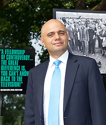 Secretary of State for Culture, Media and Sport Rt Hon Sajid Javid MP officially reopens Speakers' Corner in Hyde Park following its refurbishment.<br /> at Speakers' Corner, Hyde Park, London, United Kingdom. 19th June 2014 <br /> <br /> Heiko Khoo <br /> long time speaker & Marxist<br /> <br /> Linda Lennon<br /> CEO <br /> Royal Parks <br /> <br /> Tony Allen <br /> regular speaker <br /> <br /> The area is an important entrance to Hyde Park and has been refurbished to ensure it continues to be a vibrant and welcoming spot for both speakers and visitors.<br /> <br /> The opening will focus on both the past and present with an exhibition on site from Sounds from the Park - a project which has gathered an archive of oral history, images and documents from Speakers' Corner.<br /> <br /> Photograph by Elliott Franks