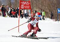 Francis Piche Invitational j5 1st run at Gunstock March 19, 2010....