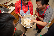 "Brooklyn, NY - January 27, 2019: The JBF Greens and League of Kitchens presents ""Bengali Cooking with Afsani,"" a cooking class at the instructor's home in Bay Ridge.<br /> <br /> Photos by Clay Williams for The James Beard Foundation.<br /> <br /> © Clay Williams / http://claywilliamsphoto.com"