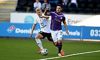 Fotball , 23. juli  2015 ,   Europa League - Qualification<br /> Odd - Shamrock Rovers<br /> Brandon Miele , Rovers<br /> Emil Jonassen , Odd