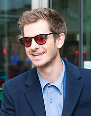 2017-10-22 Politicians and film star Andrew Garfield attend BBC Andrew Marr Show