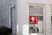 Nederland, Sluis, 13-9-2019 Huizen die te koop staan. huis te koop in het oude centrum, binnenstad, van dit stadje in Zeeuws Vlaanderen, provincie Zeeland . Foto: Flip Franssen