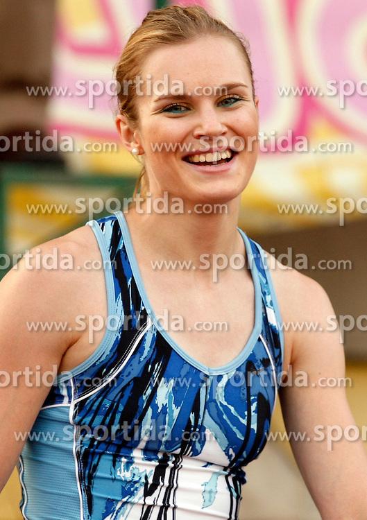 Athlete Pia Tajnikar at 2nd Memorial Meeting of Matic Sustersic, on June 3, 2007, Ljubljana, Slovenia.   (Photo by Vid Ponikvar / Sportal Images).