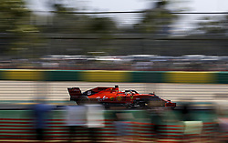 March 16, 2019 - Melbourne, Australia - Motorsports: FIA Formula One World Championship 2019, Grand Prix of Australia, ..#5 Sebastian Vettel (GER, Scuderia Ferrari Mission Winnow) (Credit Image: © Hoch Zwei via ZUMA Wire)