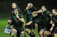 JP License<br /> <br /> BT Premiership<br /> Boroughmuir v Melrose<br /> <br /> The Boroughmuir players celebrate as David Reekie kicks the winning conversion for a last ditch 19-18 win<br /> <br />  Neil Hanna Photography<br /> www.neilhannaphotography.co.uk<br /> 07702 246823