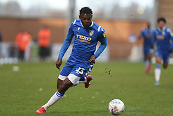 Theo Robinson of Colchester United runs with the ball - Mandatory by-line: Arron Gent/JMP - 29/02/2020 - FOOTBALL - JobServe Community Stadium - Colchester, England - Colchester United v Cheltenham Town - Sky Bet League Two