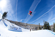 Dara Howell during Ski Slopestyle Practice at 2014 X Games Aspen at Buttermilk Mountain in Aspen, CO. ©Brett Wilhelm/ESPN