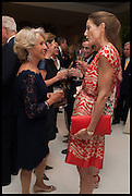 Rosita Spencer-Churchill, Duchess of Marlborough ; LADY ROTHERWICK, Cartier dinner in celebration of the Chelsea Flower Show. The Palm Court at the Hurlingham Club, London. 19 May 2014.
