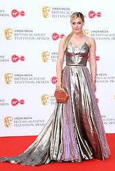 Camilla Kerslake attending the Virgin Media BAFTA TV awards, held at the Royal Festival Hall in London. Photo credit should read: Doug Peters/EMPICS