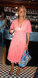MISS MARTHA WARD at the opening party of the new Frankie's Italian Bar and Grill hosted by Frankie Dettori, Marco Pierre White and Edward Taylor at 68 Chiswick High Road, London W4 on 1st September 2005.<br /><br />NON EXCLUSIVE - WORLD RIGHTS