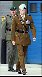 Prince Harry visits Royal Marines in Plymouth,<br /> The Prince will officially open the Royal Navy's newly built centre of amphibious excellence,<br /> Devonport, Plymouth, United Kingdom<br /> Friday, 2nd August 2013<br /> Picture by Stephen Lock / i-Images