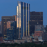 Skyline photography featuring the newly constructed Boston Millenium Tower on a magnificent summer night. The Millennium Tower, with its nickname Millie, is located at Downtown Crossing and is one of the latest Boston urban architecture skyline addition. Boston skyline photos are available as museum quality photography prints, canvas prints, acrylic prints or metal prints. Fine art prints may be framed and matted to the individual liking and decorating needs:<br />  <br /> http://juergen-roth.pixels.com/featured/boston-millenium-tower-juergen-roth.html<br /> <br /> All Boston photographs are available for digital and print image licensing at www.RothGalleries.com. Please contact me direct with any questions or request.<br /> <br /> Good light and happy photo making!<br /> <br /> My best,<br /> <br /> Juergen<br /> Prints: http://www.rothgalleries.com<br /> Photo Blog: http://whereintheworldisjuergen.blogspot.com<br /> Instagram: https://www.instagram.com/rothgalleries<br /> Twitter: https://twitter.com/naturefineart<br /> Facebook: https://www.facebook.com/naturefineart
