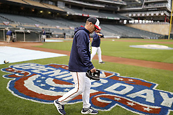 April 2, 2017 - Minneapolis, Minnesota, USA - The Minnesota Twins manger Paul Molitor  during practice for opening day against the Kansas City Royals at Target Field Sunday April 2, 2017 in Minneapolis, MN.]  JERRY HOLT • jerry.holt@startribune.com (Credit Image: © Jerry Holt/Minneapolis Star Tribune via ZUMA Wire)