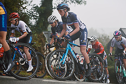 Aude Biannic (FRA) at the 2020 UEC Road European Championships - Elite Women Road Race, a 109.2 km road race in Plouay, France on August 27, 2020. Photo by Sean Robinson/velofocus.com