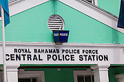 The Royal Bahamas Police central police station in Nassau, Bahamas.