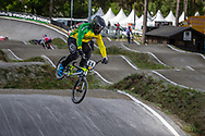 #44 (DEAN Anthony) AUS during round 3 of the 2017 UCI BMX  Supercross World Cup in Zolder, Belgium,