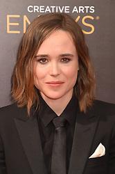 Ellen Page bei der Ankunft zur Verleihung der Creative Arts Emmy Awards in Los Angeles / 110916 <br /> <br /> *** Arrivals at the Creative Arts Emmy Awards in Los Angeles, September 11, 2016 ***
